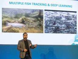Chaitanya Dhumasker, Gründer und CEO von MonitorFish auf der FUTURAS IN RES