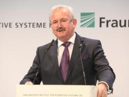 Prof. Dr. Reimund Neugebauer, Präsident der Fraunhofer-Gesellschaft