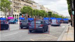 Simulation: Künstliche Intelligenz erkennt Autos